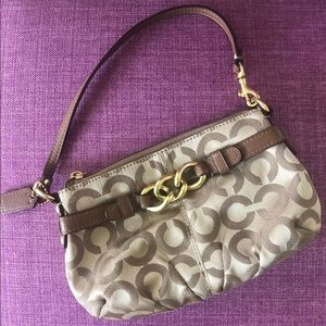 Coach vintage wristlet - Used in great condition!